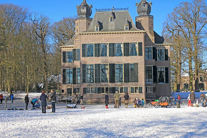 Kasteel Poelgeest winter